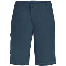 VAUDE Ledro Spodnie krótkie Mężczyźni, niebieski